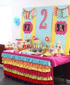 Decorating for a Sesame Street themed party