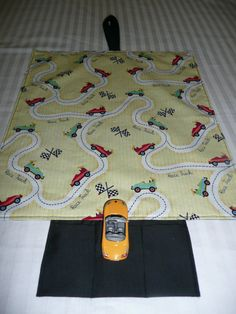 Boys Car and Road Travel Mat / Place Mat by PoppyDesignsGifts