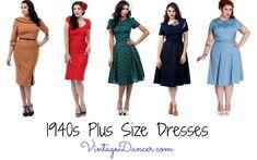 How to Wear 1940s Women's Fashion