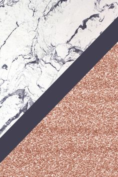 marble and rose gold phone wallpaper / background