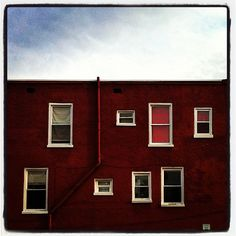 Random: curious arrangement of windows. #Hagerstown #Maryland
