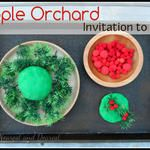 Apple Orchard Invitation to Play