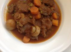 Stewed meat and vegetables