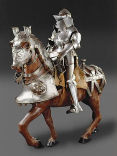 Equestrian armor (Küriss) for field and tournament   Kolman Helmschmid   1526  
