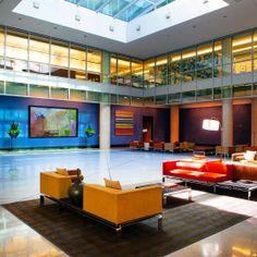 Stylish Office Waiting Area
