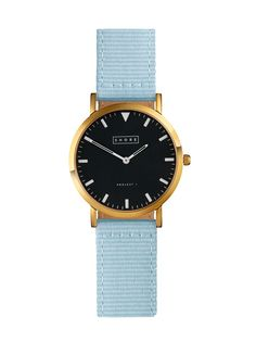 St Ives Watch With Sky Blue Classic Strap