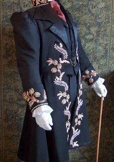 swoon worthy early Victorian era men's jacket
