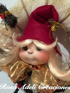 Christmas Pictures, Christmas Diy, Christmas Decorations, Gnome Tutorial, Types Of Fairies, Pink Sparkles, Forest Creatures, Painted Gourds, Flower Fairies