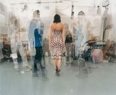The Artist Circulates - Amongst Curators, Journalists, Technicians And Her Colleagues - John Hilliard - Conceptual Art, Photo, 2005 Conceptual Photography, Conceptual Art, Lancaster, Photography Projects, Photography Tips, Pop Art, Paul Young, New Wife, Art Database