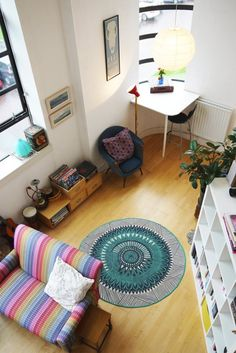 Gillian and Christopher's Colorful Glasgow Apartment | Apartment Therapy