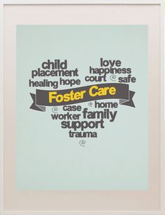 foster care print