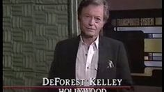 deforest kelley star trek next generation - YouTube