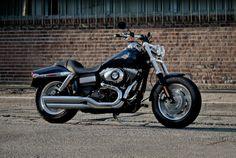 Dyna Fat Bob Motorcycle FXDF | Look imponente | Harley-Davidson Italia