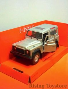 Welly Land Rover Defender (skala 1:36)