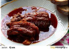 Cikánský bůček z PH recept - TopRecepty. Bucky, Crockpot, French Toast, Beef, Breakfast, Food, Ph, Meat, Morning Coffee