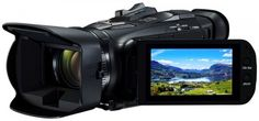 Here's what to expect from the new Full HD camcorder, Legria HF from Canon. Camcorder, Slot, Camera Prices, Image Hd, Carte Sd, Secure Digital, Cheap Cameras, Reflex Camera, Optical Image