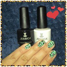 Nail Art Nail Polish Jessica Cosmetics Mexico
