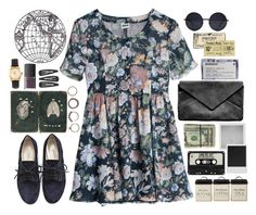 """""""The Wolves"""" by nikka-solatorio ❤ liked on Polyvore featuring MTWTFSS Weekday, Iosselliani, A.P.C., Retrò, Holga, Polaroid, Korres, American Apparel and NARS Cosmetics"""