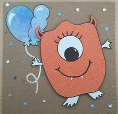 Monster Birthday card