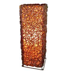 khung sắt đan dây nhựa Table Lamp, Lighting, Home Decor, Homemade Home Decor, Light Fixtures, Table Lamps, Lights, Interior Design, Lightning