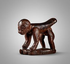 Yaka Zoomorphic Neckrest, Democratic Republic of the Congo | Sculpture from the Collection of Martin and Faith-Dorian Wright2021 | Sotheby's African Words, Printing Labels, Museum Of Modern Art, Republic Of The Congo, Lion Sculpture, Faith, Statue, Prints, Collection