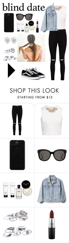 """Just be you"" by silviamachado20 ❤ liked on Polyvore featuring Boohoo, Ted Baker, Gentle Monster, Bobbi Brown Cosmetics, Gap and MAC Cosmetics"