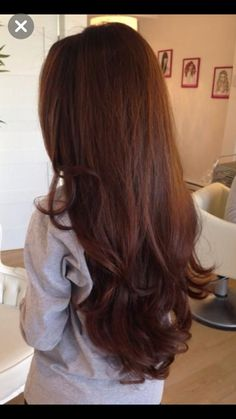Perfect auburn color - All For Hair Color Balayage Hair Color Auburn, Auburn Hair, Red Hair Color, Brown Hair Colors, Brown Hair With Auburn, Dark Auburn, Hair Color Asian, Asian Hair, Auburn Balayage