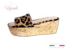 ► Zeppa Maculate   Zeppe Alte Donna   LA RAPIDA Platform Flip Flops, Cork Wedges, Ciabatta, Shoes, Fashion, Shoes Sandals, Zapatos, Women's, Moda