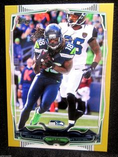 2014 Topps #1729/2014 Sidney Rice #63  Seahawks Gold Parallel    MINT FROM PACK  #SEAHAWKS
