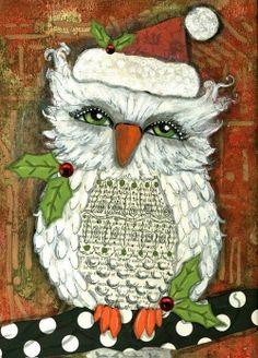 My Owl Barn: Christmas Owls