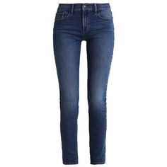 Calvin Klein Jeans HIGH RISE SKINNY ($105) ❤ liked on Polyvore featuring jeans, bottoms, pants, calça, jeans/pants, blue jeans, skinny leg jeans, high-waisted jeans, denim jeans and high rise jeans