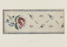 Embroidery design | Jean Pillement | V&A Search the Collections