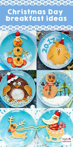10 recipes for the perfect Christmas breakfast Christmas Day breakfast ideas for kids. Christmas Pancakes, Christmas Party Food, Christmas Brunch, Xmas Food, Christmas Cooking, Christmas Goodies, Christmas Desserts, Holiday Treats, Christmas Treats