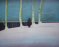 Yuki beside the Lake in Winter Thomas Lamb