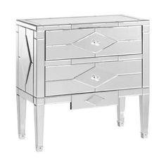 Jasmine 2 Drawer Side Table