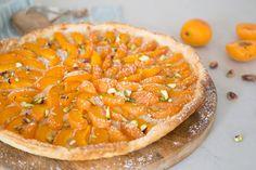 Super makkelijke abrikozentaart met marsepein en pistache - Manon Van Aerschot
