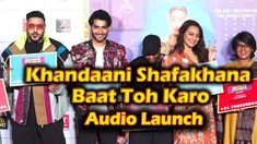 Sonakshi Sinha, Badshah at Trailer Launch Of 'Khandaani Shafakhana Baat . Top 10 News, Anamika Khanna, Dia Mirza, Kareena Kapoor Khan, Madhuri Dixit, Jacqueline Fernandez, Sonakshi Sinha, Bollywood Saree, Bollywood Fashion
