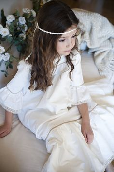 #Girls #Communion #Dress: Mod. Cerdeña