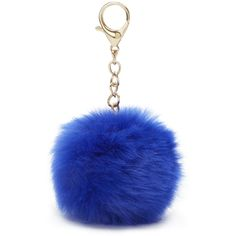 Nine West Pom Pom Bag Charm ($12) ❤ liked on Polyvore featuring accessories and nine west