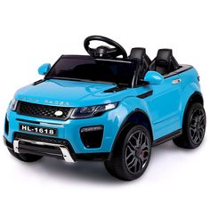 ROVO KIDS Ride-On Car Electric Battery Childrens Toy Powered w/ Remote Blue - 9348948043354 For Sale, Buy from Ride On Cars collection at MyDeal for best discounts. Toy Cars For Kids, Toys For Girls, Kids Toys, Kids Power Wheels, Range Rover Evoque, Kids Ride On, Ride On Toys, Electric Cars, Toy Store