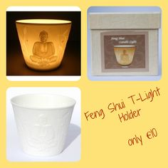 These are pretty unusal, when not lit, they are a beautiful neutral white colour and when they are lit (see photo), they glow and show the lovely picture. T Lights, See Photo, Feng Shui, Buddha, Planter Pots, Neutral, Glow, Porcelain, Colour