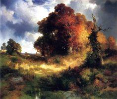 "Thomas Moran, ""Autumn"" (c. 1893)"