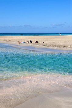 Greece Travel Inspiration - Elafonissi Beach, Crete