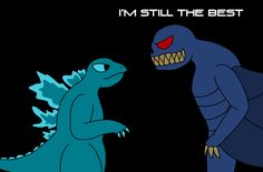 Godzilla Meets Solomon by richsquid1996 on DeviantArt Solomon, Godzilla, Meet, Deviantart, Fictional Characters, Fantasy Characters