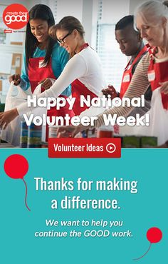 Celebrating National Volunteer Week!
