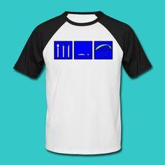 Shirt für Gleitschirmflieger im Baseball Design.