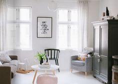 Modern Social Living Room