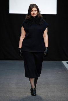 Adolfo Domínguez Prêt à Porter Otoño/Invierno 2016-2017 Priyanka Chopra Hot, Real Women, Size Model, Plus Size Women, Plus Size Fashion, Peplum Dress, Curvy, Vogue, My Style