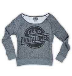 adios pantalones pullover grey – Buy Me Brunch