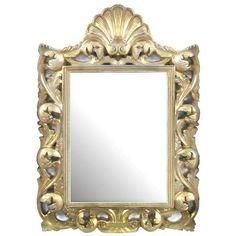 Swirl Framed Mirror #Downton #Dunelm #Decor